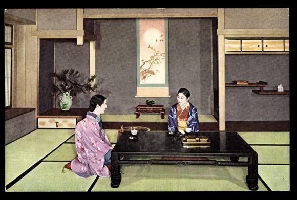 japanischer tisch