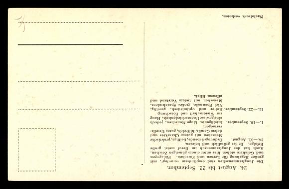 ansichtskarte postkarte sternzeichen jungfrau jungfrau im blumenkranz. Black Bedroom Furniture Sets. Home Design Ideas