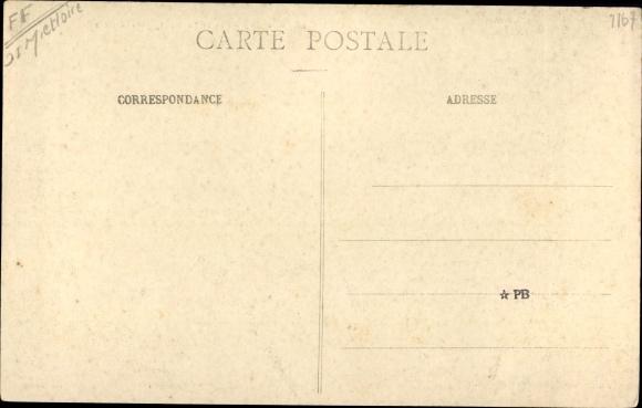 Postcard Morannes Maine Et Loire Entree Du Bourg Pres