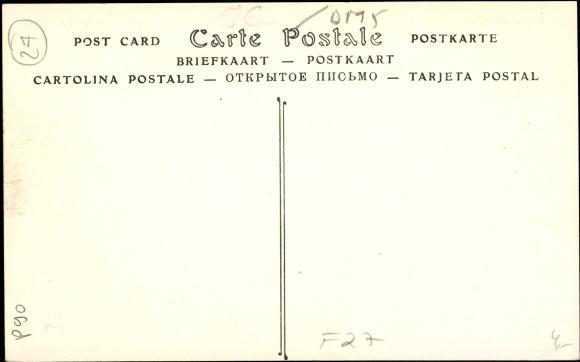 Derrière Carte postale Vernon CPA27, Vue panoramique de Vernonnet, fôrét