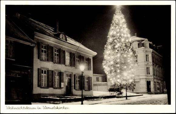 ansichtskarte postkarte wermelskirchen weihnachtsbaum. Black Bedroom Furniture Sets. Home Design Ideas
