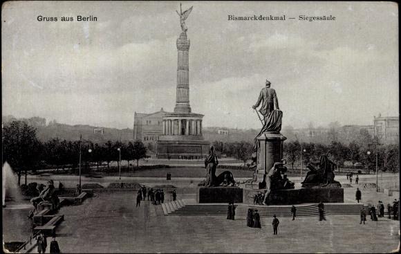 Bismarck Denkmal Berlin Bismarck Denkmal
