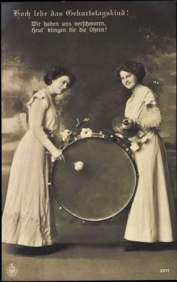 Ansichtskarte / Postkarte Glückwunsch Geburtstag, Frauen