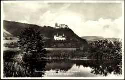 Postcard Hammelburg, Schloss Saaleck, Kloster Altstadt