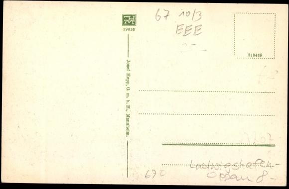 ansichtskarte postkarte oppau ludwigshafen explosion 1921 zerst rtes haus. Black Bedroom Furniture Sets. Home Design Ideas
