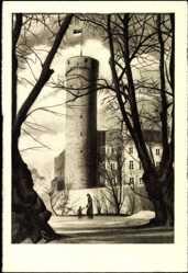Postcard Tallinn Estland, Pikk Hermann, Langer Herrmann