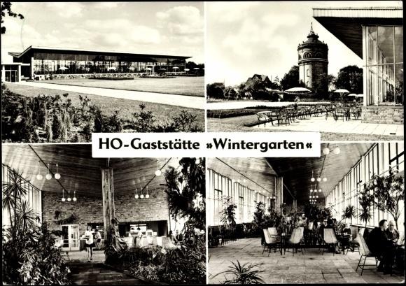 Postcard Frankfurt Oder Partie Der Ho Gaststatte Akpool Co Uk