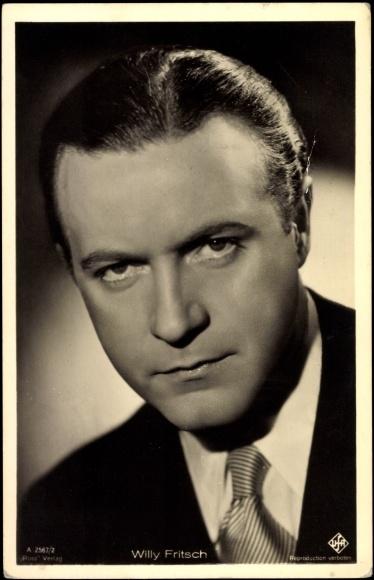 Postcard Schauspieler <b>Willy Fritsch</b>, Ross Verlag A 2567/2 - 556246