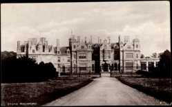 Postcard Grantham in Lincolnshire East Midlands, Stoke Rochford Building