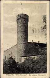 Postcard Tallinn Estland, Pikk Herman, Der Lange Hermann