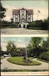Postcard Bargteheide, Blick auf das Lasbek Gut, Pensionat J. Klingenberg