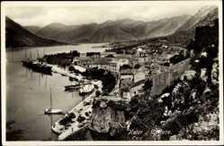 Postcard Kotor Montenegro, Gesamtansicht der Stadt, Panorama
