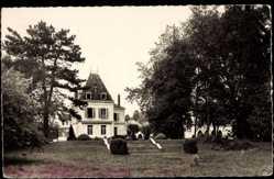 Cp Epardnon Eure et Loir, Prieuré St. Thomas, la grande allée du Parc