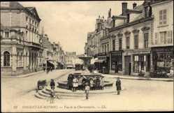 Cp Nogent le Rotrou Eure et Loire, vue générale de la Charronnerie