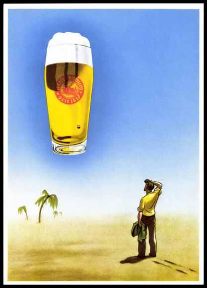 Ansichtskarte / Postkarte Ketschenburg Bier, Bier macht den Durst erst schön