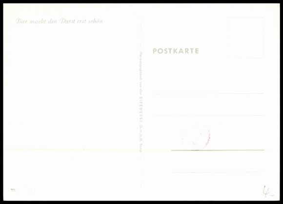 Rückseite Ansichtskarte / Postkarte Ketschenburg Bier, Bier macht den Durst erst schön