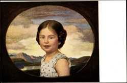 Künstler Ak Zumbusch, Ludwig von, Münchener Kindl, Portrait