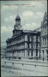 Ansichtskarte / Postkarte Wellington Neuseeland, general view of the General post Office