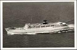 Postcard Alger, Cap 71, Paquebot Kairouan, Compagnie de Navigation Mixte