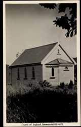Foto Ak Coromandel Neuseeland, general view of the Church of England