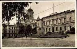 Postcard Helsinki Helsingfors Südfinnland, Soumen Pankki, Finlands Bank