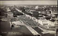 Foto Ak Helsinki Helsingfors Südfinnland, Fliegeraufnahme, Kauppatori