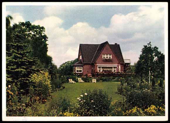 ansichtskarte postkarte elmshorn holstein baumschule. Black Bedroom Furniture Sets. Home Design Ideas