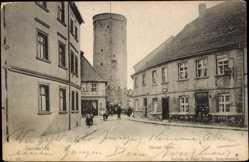 Ak Lubsko Sommerfeld Ostbrandenburg, Dicker Turm, Wilhelm Heider