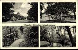 Ak Berlin Pankow Niederschönhausen, Friedensplatz, Schloß, Schloßpark