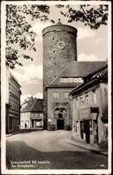 Ak Lubsko Sommerfeld Niederlausitz Ostbrandenburg, Am Büttelturm