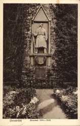 Postcard Osnabrück in Niedersachsen, Partie am Ehrenmal 1914 - 1918