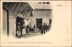 Cp Paris, Expos. Universelle de 1900, Section Algérienn, Trocadéro