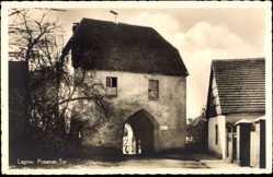 Ak Łagów Lagow Ostbrandenburg, Ansicht vom Posener Tor