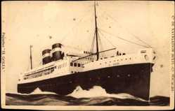 Postcard Paquebot El Golea, Dampfschiff, Compagnie de Navigation Mixte