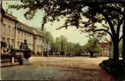 Postcard Ludwigsburg in Baden Württemberg, Südseite des Königlichen Schlosses
