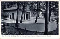Postcard Kiel Schleswig Holstein, Das Ehrenmal der Gefallenen, Düsternbrooker Gehölz