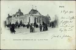 Cp Paris, Expo, Weltausstellung 1900, Le Petit Palais
