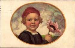 Künstler Ak Zumbusch, Ludwig von, Bayerischer Blumentag 1913