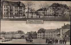 Ak Sołacz Poznań Posen Solatsch, Fußartillerie Kaserne