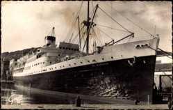 Postcard Port Vendres En Méditerranée, Paquebot El Mansour