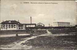 Postcard Bizerte Mazedonien, Manutention militaire et Caserne de l'Intendance