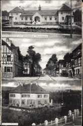 Postcard Grafenwöhr im Oberpfälzer Hügelland, Truppenübungsplatz, Offizierslager