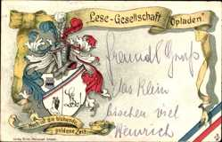 Studentika Litho Opladen Leverkusen in Nordrhein Westfalen, Lese Gesellschaft