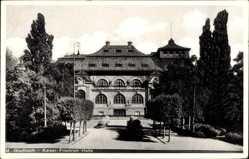 Postcard Mönchengladbach, Blick auf die Kaiser Friedrich Halle