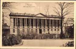 Ak Poznań Posen, Biblioteka Raczynskich, Bibliothek