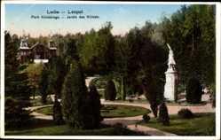 Postcard Lwów Lemberg Leopol Ukraine, Park Kilinskiego, Parkanlage, Statue