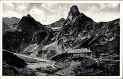 Postcard Vysoké Tatry Hohe Tatra Slowakei, Zelene Pleso, Grüner See