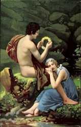 Künstler Ak Gérard, Francois Pascal, Daphnis und Cloe, Stengel 29442