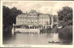 Postcard Ludwigsburg in Baden Württemberg, Wasserseite von Schloss Monrepos