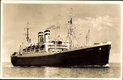 Postcard Schnelldampfer Hamburg, Steamer, Paquebot, HAPAG